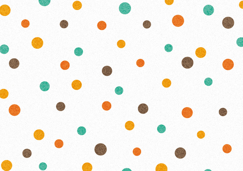 Random dot ● Retro color
