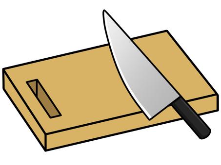 切板和菜刀