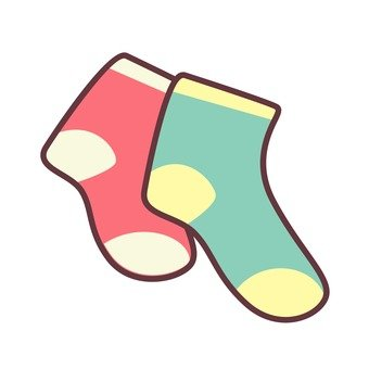 Different socks