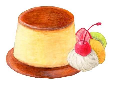 Pudding a la mode