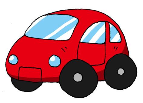 Passenger car red