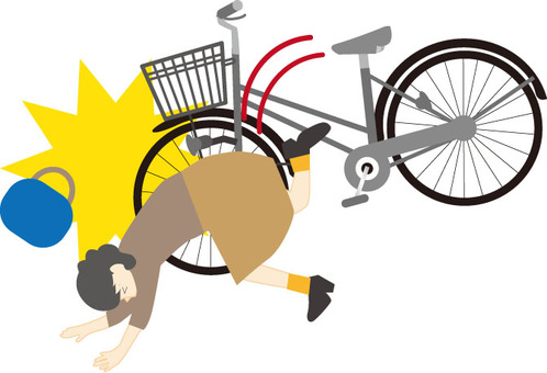 A bicycle accident