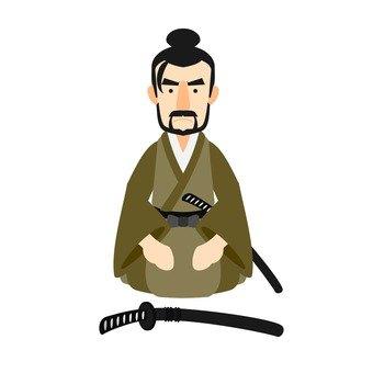 Samurai, Seiza
