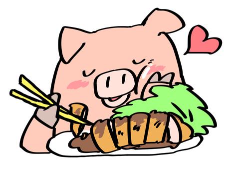 Tonkatsu delicious