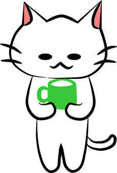 Mug with Mr. Nyanko