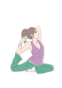 Yoga Women 4
