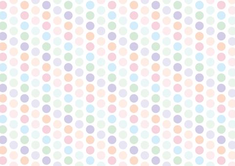 Pastel small polka dots