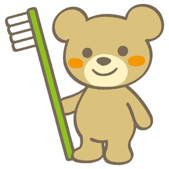 Little Bear 02-Toothbrush A