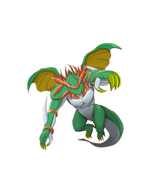 Armed dragon (ground)