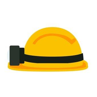 Helmet and light