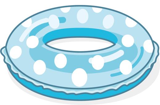 튜브 물방울 블루 레이가