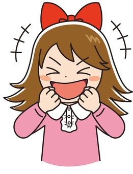 Ribbon happy comical