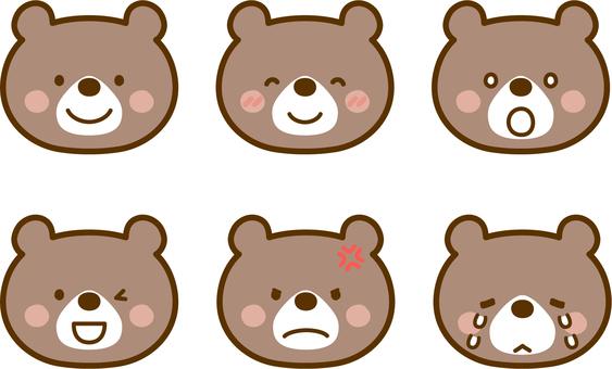 各種熊的表達