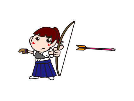 "Archery Woman ""Shoot"""