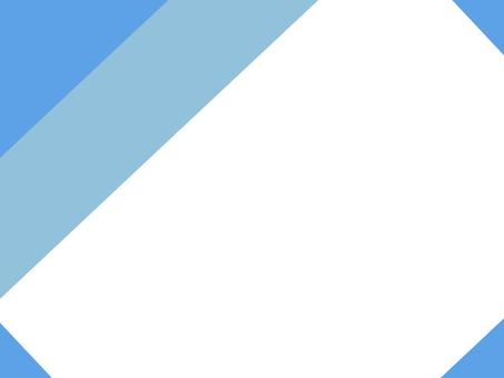 Square frame (light blue)