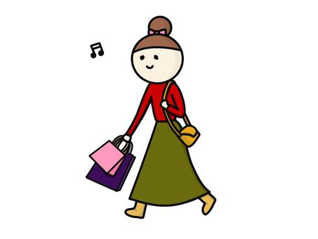 Fashionable shopping