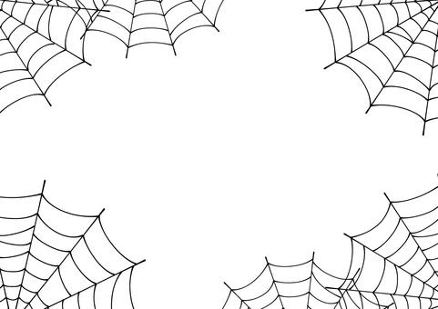 Spider web's frame