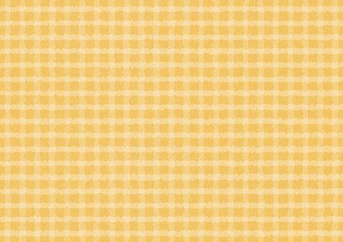 Check Wallpaper Orange