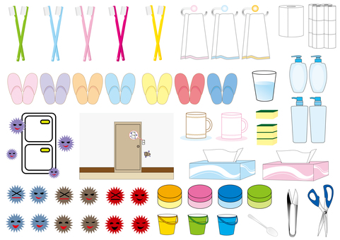 Hygiene and daily necessities set