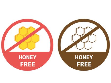 Food allergy label honey