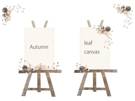 Autumn color frame set ver 07