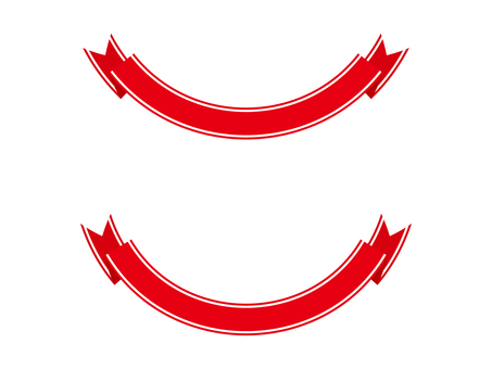 Ribbon 16 wire - red