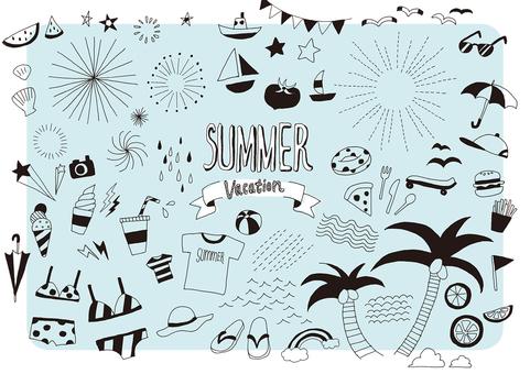 여름 그린 그림 1