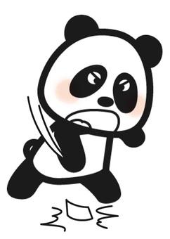 Rough panda