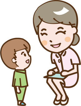 Children and nurses