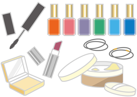 Free Cliparts : cosmetics Cosmetics - 743992 | illustAC
