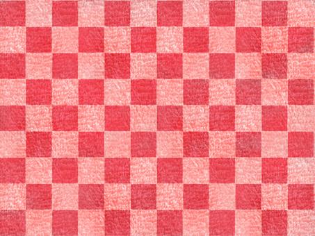 사각형 모양 융단 핑크