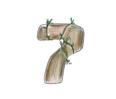 Number (wood 7)