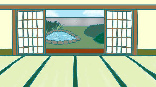 Japanese style living room (rim side)