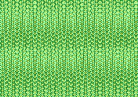 Japanese pattern (wave pattern dots) 5