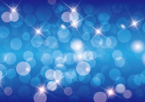Blue Glitter 9