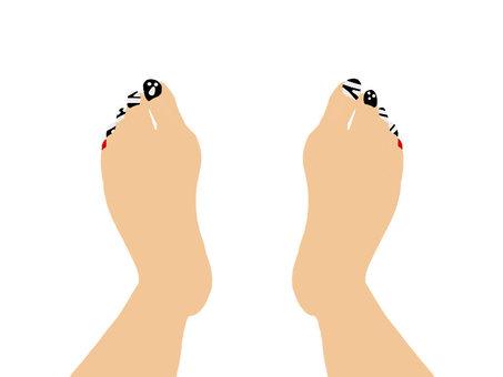 Foot nail 4