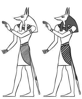 Egypt Illustration Anubis-3