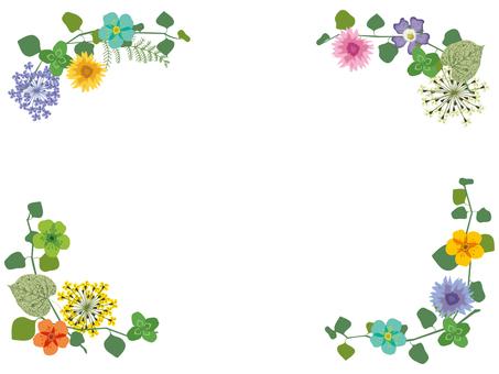 Frame _ spring flowers