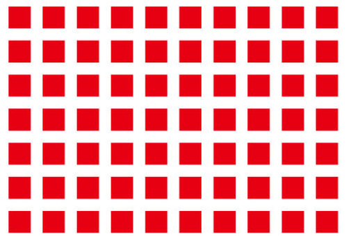 Red and white square pattern wallpaper