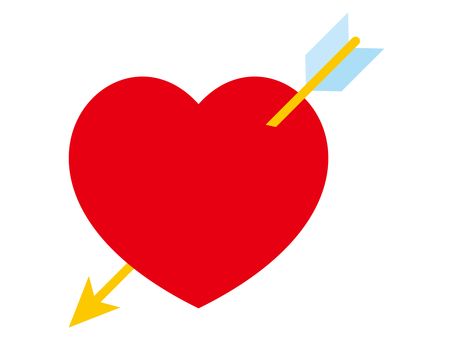 Heart with arrows
