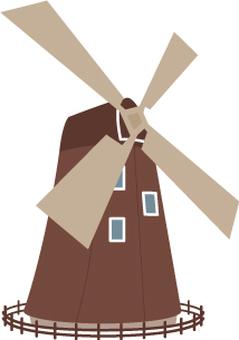 Brown Windmill