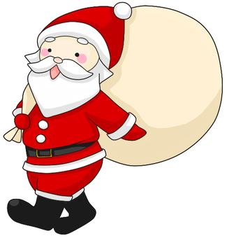 Santa Claus (Horizontal)