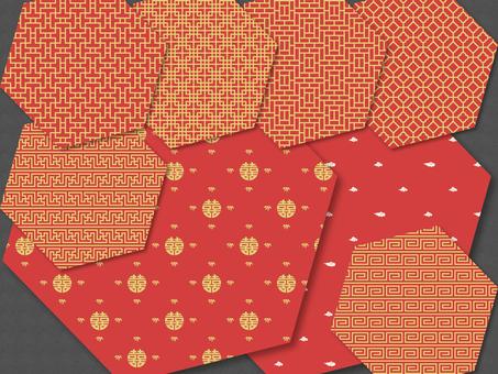 Swatch - China pattern set