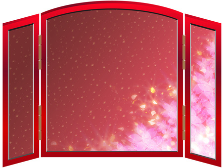 Luxurious cherry blossom screens 05