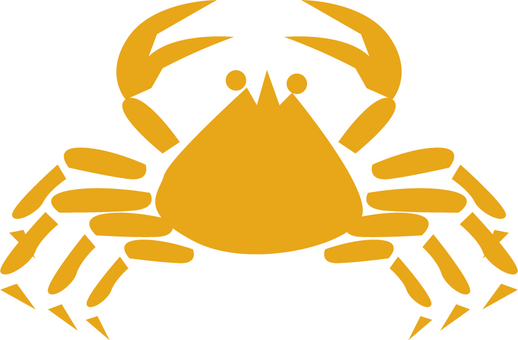 Seafood silhouette