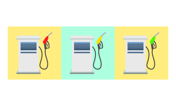 Illustration of refueling machine