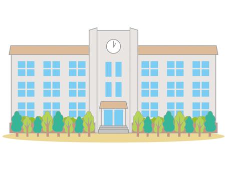School building 02