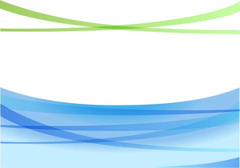 심플한 곡선의 이미지 파랑