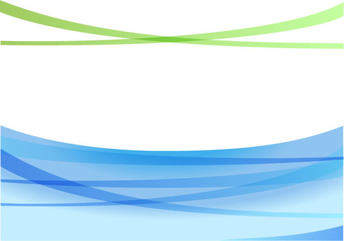 Simple curve image Blue