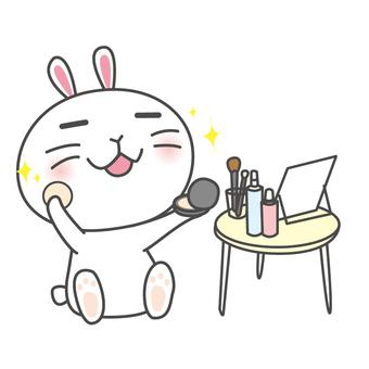 Yuru Chara Rabbit-chan Makeup
